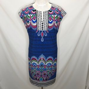 Laundry by Shelli Segal | Tribal Shift Mini Dress